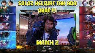 Soloz Helcurt Tak Ada Obat !!! AirAsia Saiyan vs Bigetron SG Match 2 Playoffs MPL MY/SG Season 2