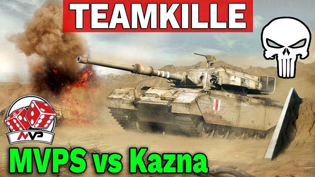TEAMKILLE – Kazna Kru vs MVPS – World of Tanks