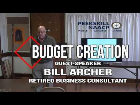 Peekskill NAACP Economic Empowerment - Budget Creation