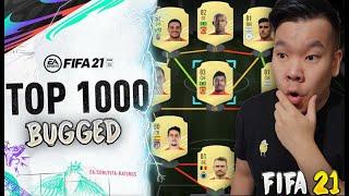 FIFA 21: VERBUGGTE TOP 1000 DATABASE IST DA 🤦♂️ 7x KRANKE WEEK 1 STARTERTEAMS FÜR 50K-100K 😲🔥