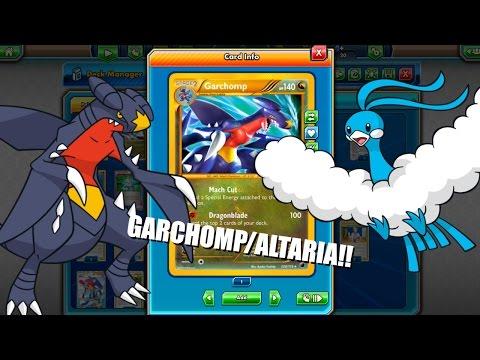 PTCGO LEGACY Garchomp Altaria Deck!! Underdog Legacy Deck!(Pokemon TCG Online)