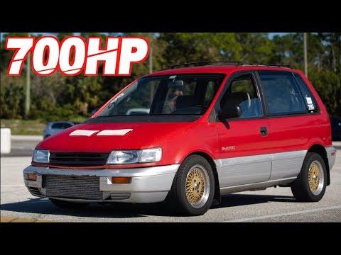700HP Sleeper AWD 4G63 Eagle Summit Minivan! (Rolling Anti-lag 38PSI)