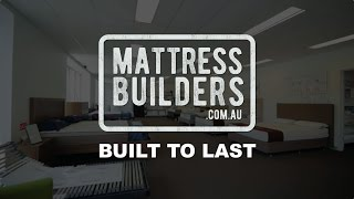 Mattress Builders | Mattress Store Melbourne(https://goo.gl/6VP9j5 Hi. I'm George from Mattress Builders. Here at our factory we make a great range of classic mattresses as well as pocket springs. We also ..., 2017-01-16T02:17:49.000Z)