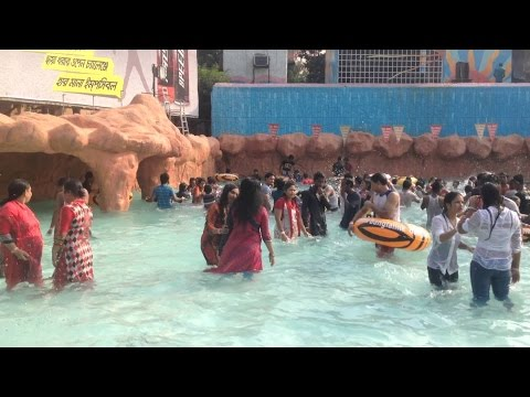 Fantasy Water Kingdom Ashulia Dhaka. Underwater dance & Masti