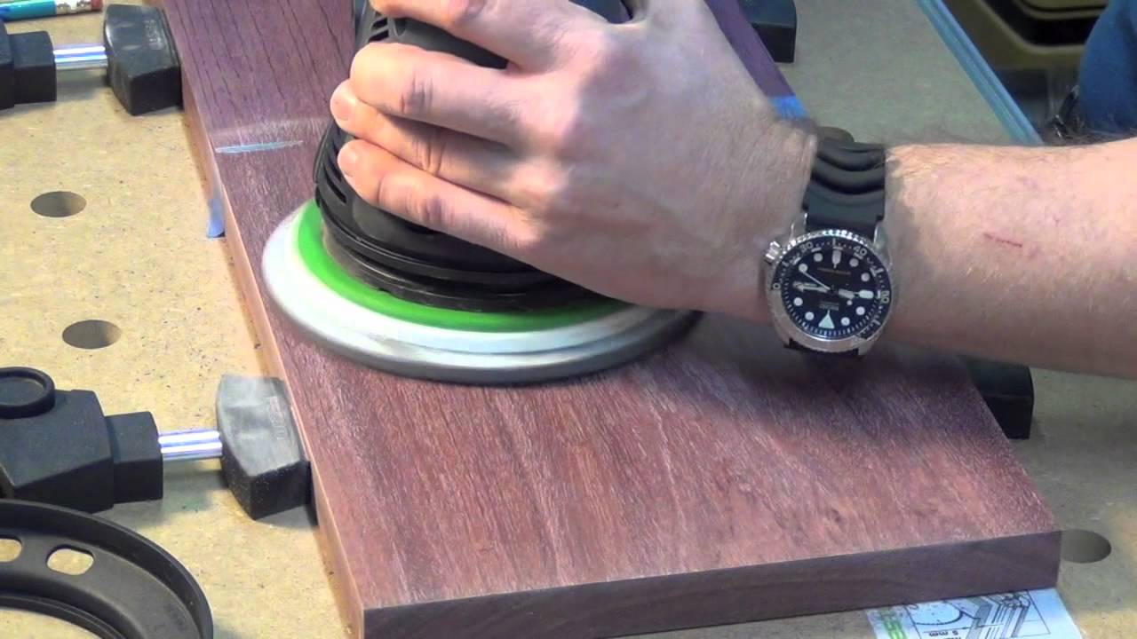 festool rotex ro 150 sanding to a polish youtube. Black Bedroom Furniture Sets. Home Design Ideas