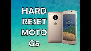 Restaurar / Formatear Moto G5 en Español - Hard Reset Moto G5