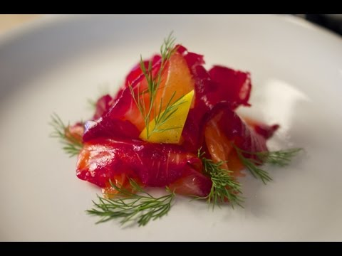 Beetroot Cured Salmon – Bruno Albouze