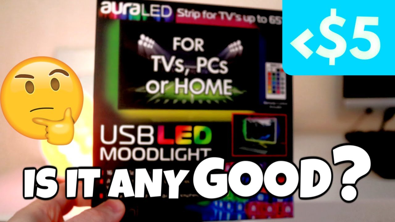 5 Led Light Strip Moodlight From Walmart Review Is It Any Good