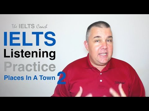 IELTS Listening Practice Places In A Town 2