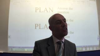 A Level lecture - How to Write an Essay (esp. English Lit. and Film exams)