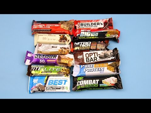 How to select the perfect protein bar to eat