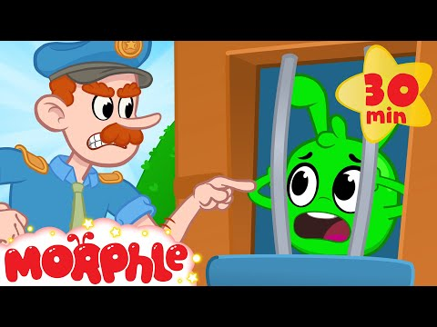 Orphle in JAIL! - My Magic Pet Morphle | Cartoons for Kids
