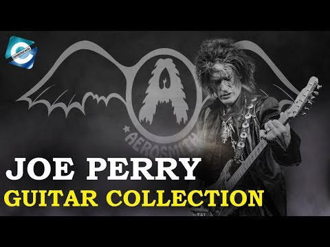 Aerosmith Guitarist Joe Perry Guitar Collection | 10 Best Guitars