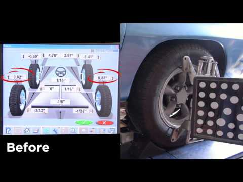 Controlling Rear Camber on 63-78 Corvettes with Global West's Camber Correction Kit