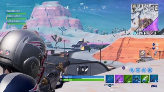 Fortnite snowboard glitch!?