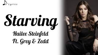 Starving - Hailee Steinfeld Ft. Grey & Zedd (Lyrics) Cover by Jordan JAE. I do not own anything. All credits go to the right owners. No copyright intended. If you ...