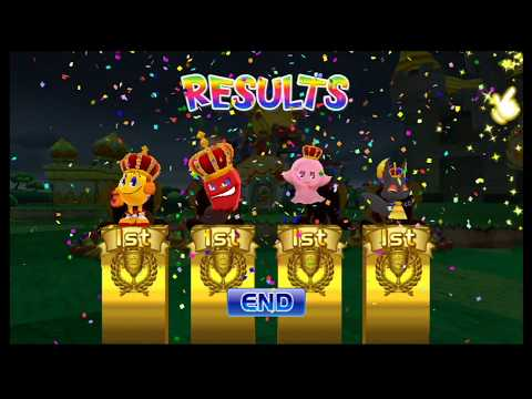 Pac-Man Party - 4 Player Victory (Requested By Jet Link)