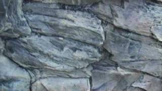 Aquarium 3d Background, Rock Design - Two Joint Sections For Large Tanks