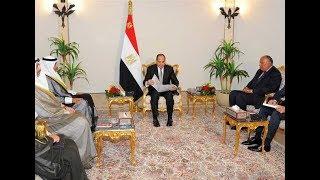 الرئيس السيسي يتسلم رسالة خطية من أمير الكويت حول أزمة قطر بموجز الأخبار