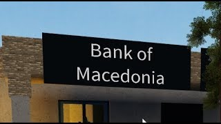 """Raiding the bank of a """"macedonian"""" on roblox Electric State DarkRP"""
