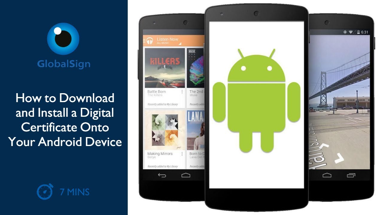 How to Download and Install a Digital Certificate Onto Your Android  #Smartphone #Android