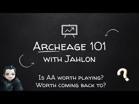 Archeage 101 - Is Archeage worth playing?