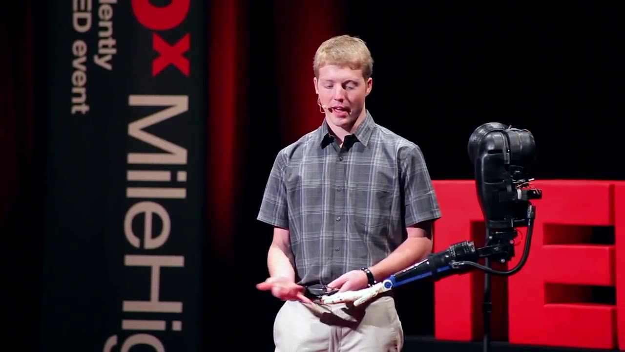 3D Printing in Animatronics Easton LaChappelle at TEDxMileHigh