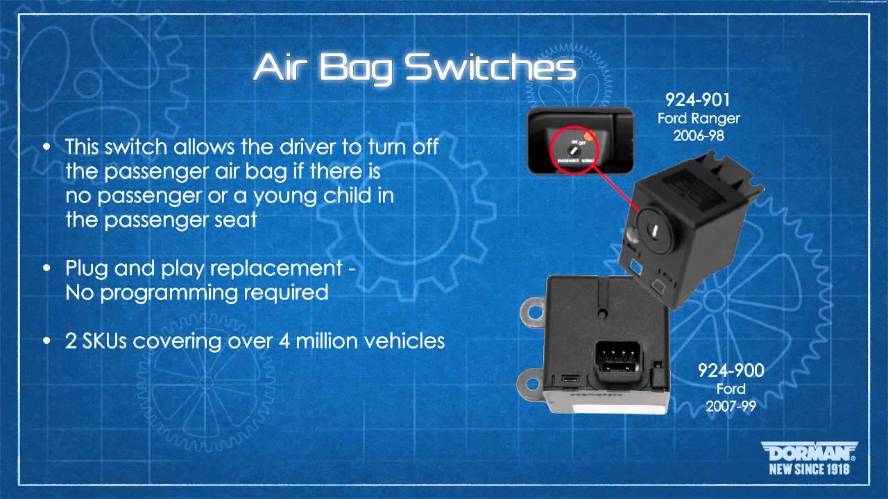Passenger Air Bag Disable Switch