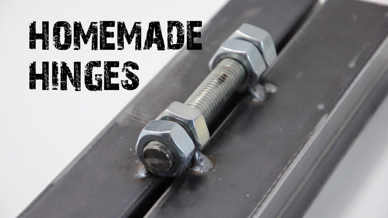 How To Make Hinges From Nuts And Bolts Life Hacks