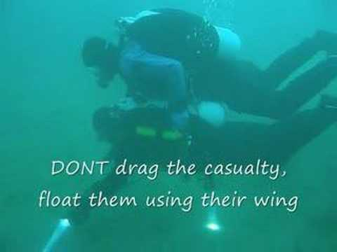Toxing Diver rescue