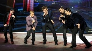 BackStreet Boys Concert in Virginia Beach With Jessie McCartney Opening