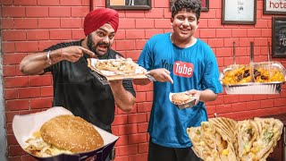 EATING Chatram Patram 🥘🍕🍔 with YPM Vlogs