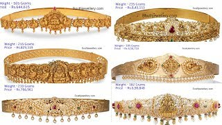 20 Mind Blowing Vaddanam Designs With Weight and Price!!