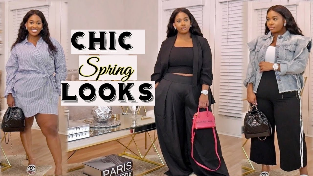 CHIC SPRING LOOKS 2019| TRY-ON and STYLING ft EXPRESS | PocketsandBows 2