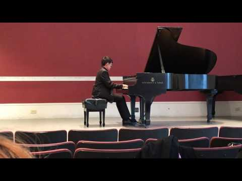 Alex Pan (11 year old) Sonata No. 3 in A Minior, Opus 28 by Sergei Prokofiev