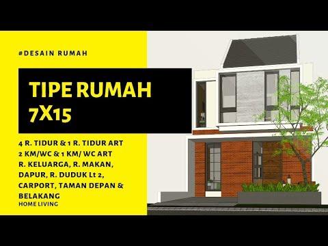 home-living---desain-rumah-minimalis-7x15-dengan-4-kamar-tidur-|-casa-7x15