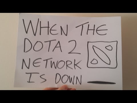 When The Dota 2 Network Is Down (Short Film Contest)