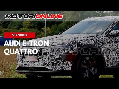 Audi e tron quattro - Video spia (marzo 2018)