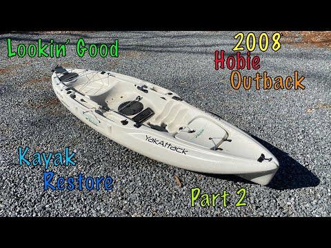 Kayak Resurrection: 2008 Hobie Outback | Episode 2