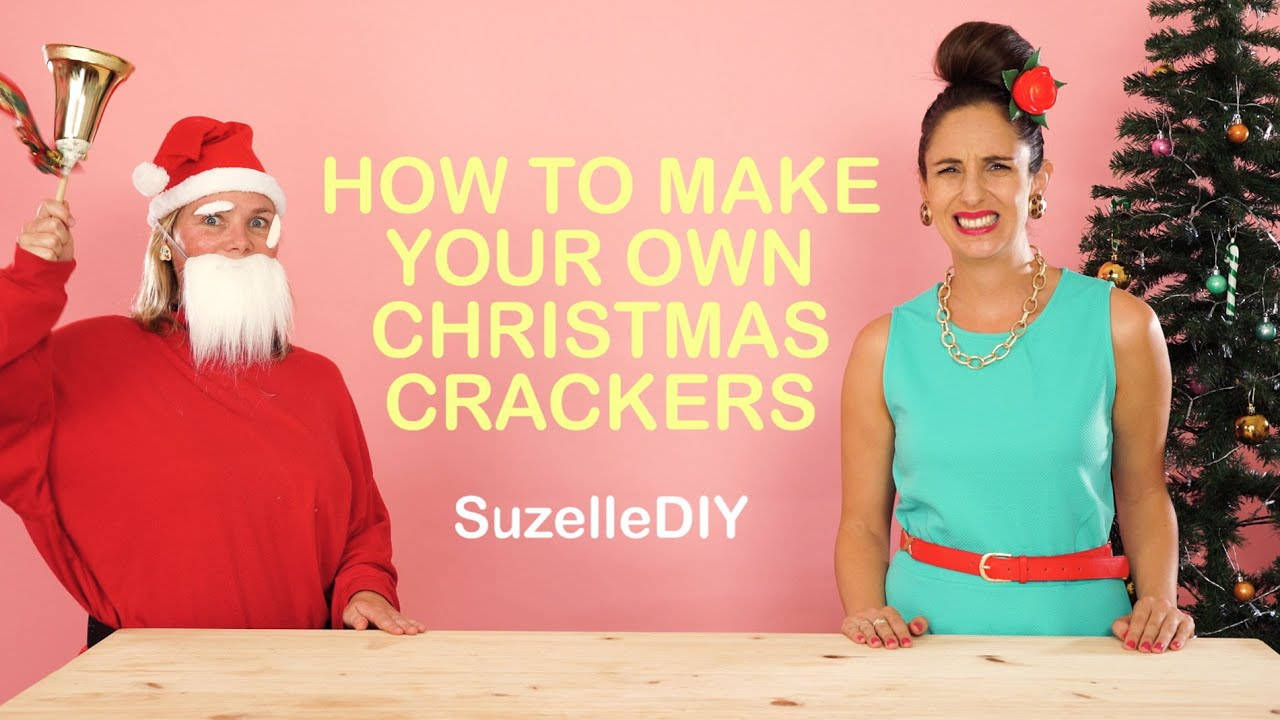 How to make your own christmas crackers youtube solutioingenieria Choice Image