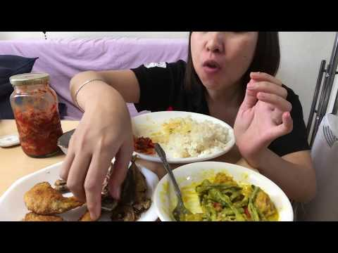 Filipino mukbang (warning) sloppy eating😄