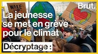 La jeunesse se met en grève pour le climat