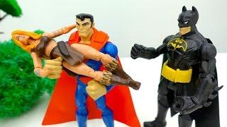 #Супергерои: детское видео. Джокер похитил Шанну! Супермен на помощь! Игрушки для детей