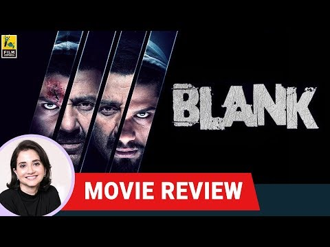 Blank Movie Review by Anupama Chopra   Sunny Deol   Karan Kapadia   Film Companion