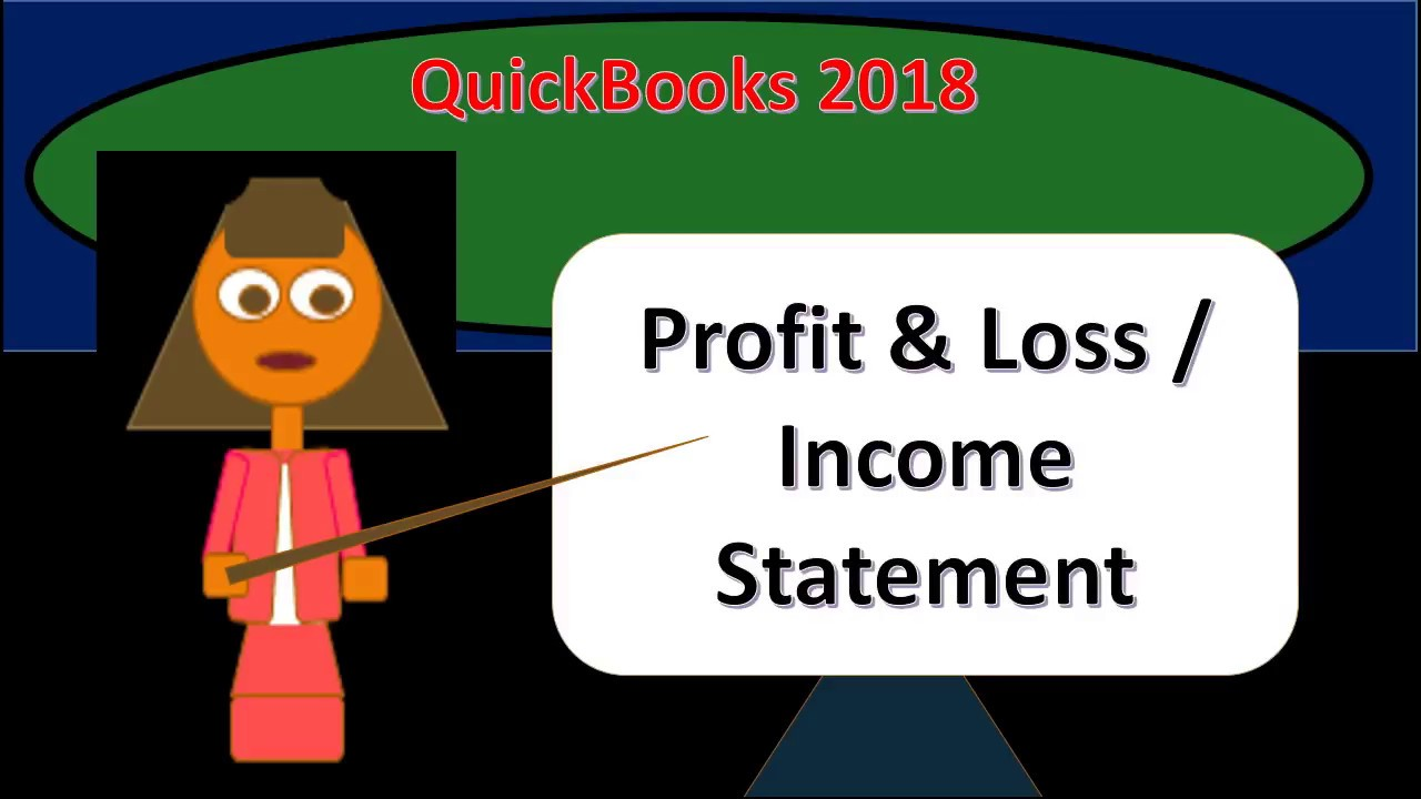 profit and loss form 2018