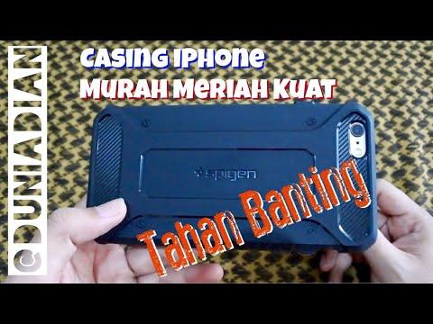 Spigen Rugged Armor Case Untuk IPhone L KUPAS TUNTAS