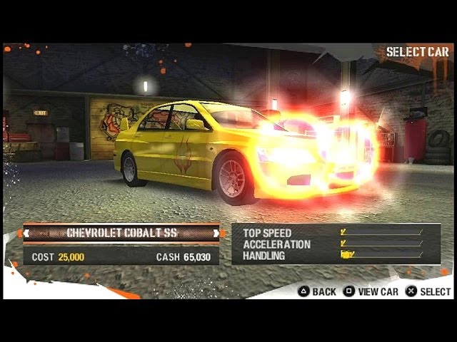 Need For Speed Carbon Own The City Cheats SuperSpeed (for