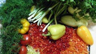 Овощное ассорти в супы и борщи. Заморозка.заготовки на зиму