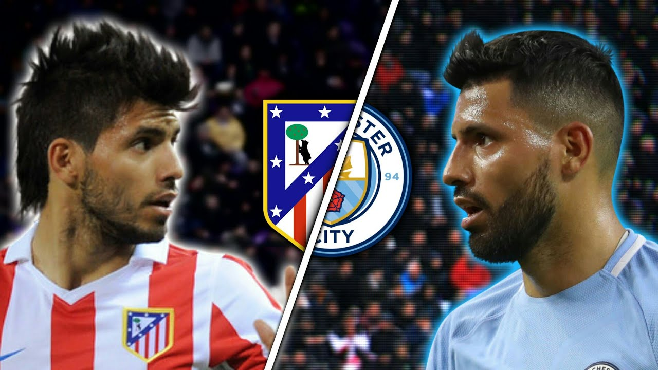 Aguero In Atletico Madrid Vs Aguero In Manchester City