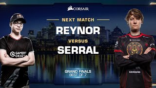 Reynor vs Serral ZvZ - Finals - WCS Fall 2019 - StarCraft II